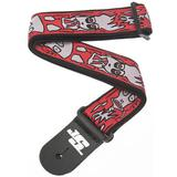 PLANET WAVES Joe Satriani Guitar Strap Up in Flames  [50JS02] - Gitar Pin Strap